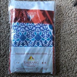 NWT Mandala Blue Tapestry